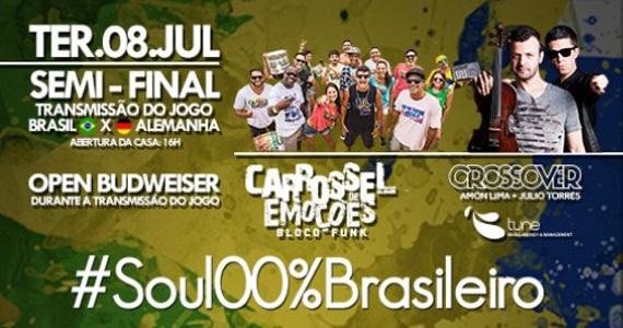 Wood's embala o público ao som do bloco carioca Carrossel de Emoções e outras atrações Eventos BaresSP 570x300 imagem