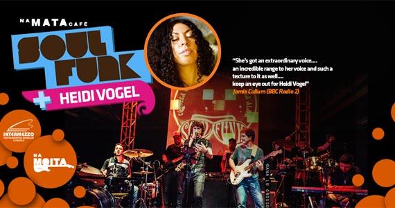 Show da banda Soul Funk com participação especial de Heide Vogel acontece Na Mata Café Eventos BaresSP 570x300 imagem