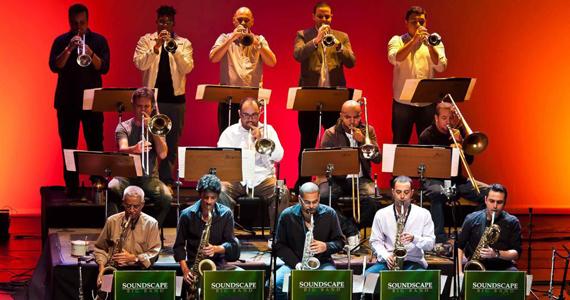 Banda Soundscape Big Band  traz o jazz contemporâneo para o projeto Quintas Musicais do Sesc Santo André Eventos BaresSP 570x300 imagem