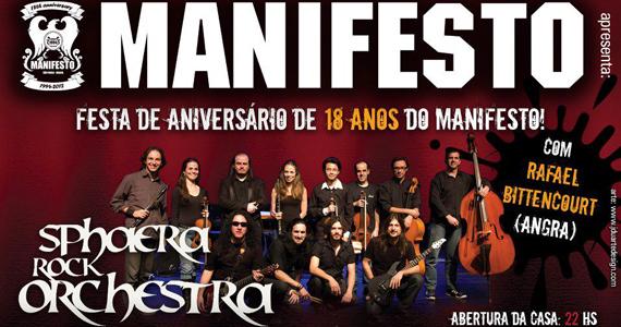 Sphaera Rock Orchestra toca no aniversário do Manifesto Rock Bar Eventos BaresSP 570x300 imagem