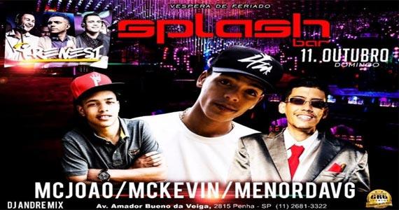 Splash Bar recebe o show de MC Kevin e convidados animando o domingo Eventos BaresSP 570x300 imagem