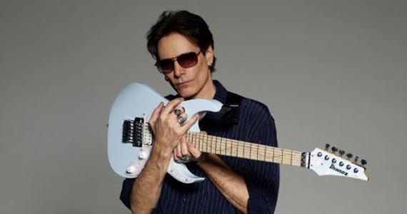 Guitarrista Steve Vai sobe ao palco do Credicard Hall neste domingo Eventos BaresSP 570x300 imagem