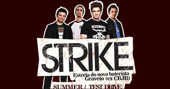 Apresentação da banda Strike no palco do Hangar 110 na quinta-feira - Rota do Rock Eventos BaresSP 570x300 imagem