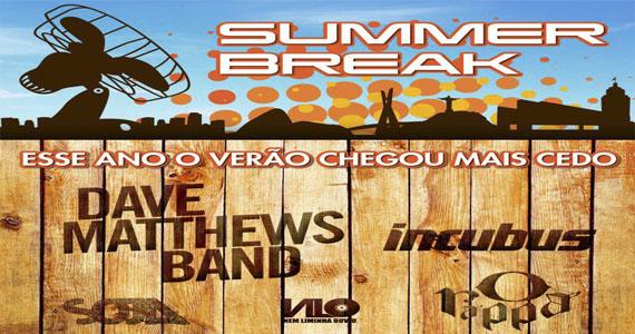 Dave Matthews Band e Incubus comandam o inédito Summer Break Festival no Campo de Marte Eventos BaresSP 570x300 imagem