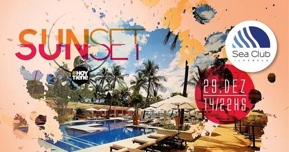 Festa Sunset#HoyTiene acontece nesta segunda-feira no Sea Club Eventos BaresSP 570x300 imagem