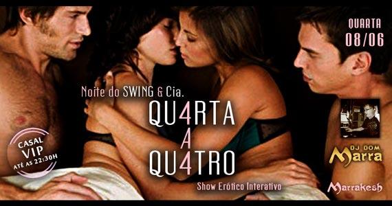 Qu4rta a Qu4tro com Noite do Swing animando a quarta-feira do Marrakesh Club Eventos BaresSP 570x300 imagem