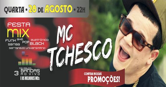 MC Tchesco comanda Festa Mix no Coração Sertanejo nesta quarta-feira  Eventos BaresSP 570x300 imagem