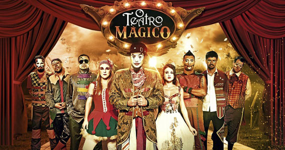 Teatro Mágico  apresenta seus sucessos no palco do Audio Club sábado Eventos BaresSP 570x300 imagem