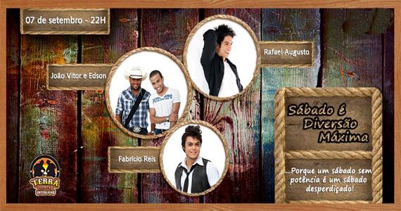 Sábado sertanejo reúne Fabrício Reis, Rafael Augusto e João Vitor & Edson no Terra Country Interlagos Eventos BaresSP 570x300 imagem