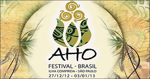 Festival Aho de música eletrônica envolve arte, design e sustentabilidade na Ilha Comprida Eventos BaresSP 570x300 imagem