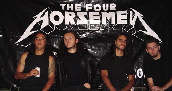 Banda The Four Horsemen - Metallica Cover se apresenta no Sky Music Bar na sexta Eventos BaresSP 570x300 imagem