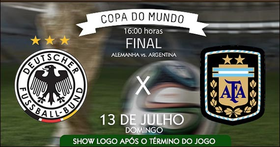 The Blue transmite a Final da Copa do Mundo 2014 neste domingo Eventos BaresSP 570x300 imagem