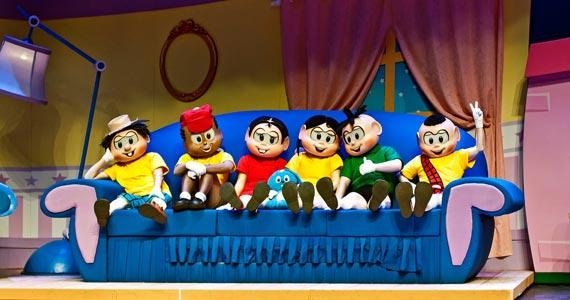 O espetáculo infantil Monica Mundi - Uma Volta ao Mundo com a Turma da Mônica no Theatro NET Eventos BaresSP 570x300 imagem