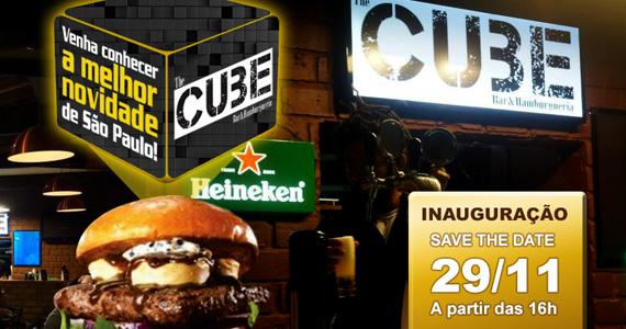 The Cube Bar e Hamburgueria inaugura hoje com show de João Castro Eventos BaresSP 570x300 imagem