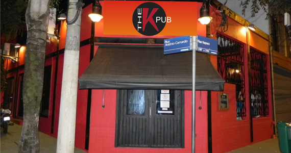 The K. Pub embala a noite ao som de pop rock com banda Meio Termo Eventos BaresSP 570x300 imagem