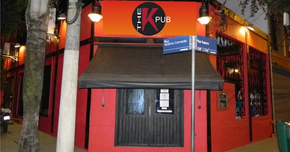 The K. Pub embala a noite ao som da banda Lets Glow  Eventos BaresSP 570x300 imagem