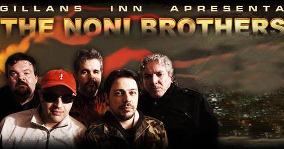 Banda The Noni Brothers se apresenta neste sábado no Gillans in English Rock Bar Eventos BaresSP 570x300 imagem