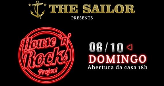 The Sailor realiza nova edição do House'n'Rocks Project neste domingo Eventos BaresSP 570x300 imagem
