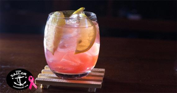 The Sailor Legendary Pub participa da Campanha Outubro Rosa oferecendo drink especial Eventos BaresSP 570x300 imagem