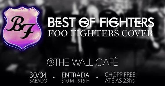 The Wall Café é palco do show da banda Foo Fighters Cover  Eventos BaresSP 570x300 imagem