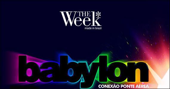 The Week apresenta neste sábado a Festa Conexão Ponte Aérea  Eventos BaresSP 570x300 imagem