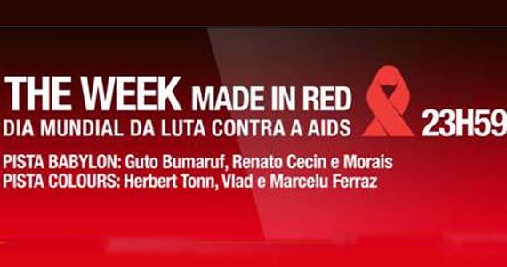 Festa do Dia Mundial da Luta contra a AIDS acontece na The Week este sábado Eventos BaresSP 570x300 imagem