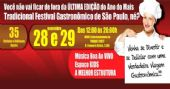 �ltima Edi��o do Festival Gastron�mico conta com muitos food trucks e barracas BaresSP