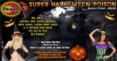 Super Halloween com decora��o e filmes de terror no Poison Bar e Balada