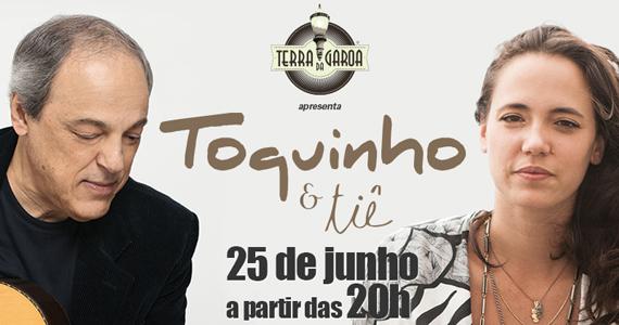 Terra da Garoa recebe show do cantor Toquinho com participação especial de Tiê Eventos BaresSP 570x300 imagem