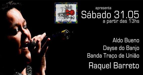 A balada Traço de União recebe a cantora Raquel Barreto neste sábado Eventos BaresSP 570x300 imagem
