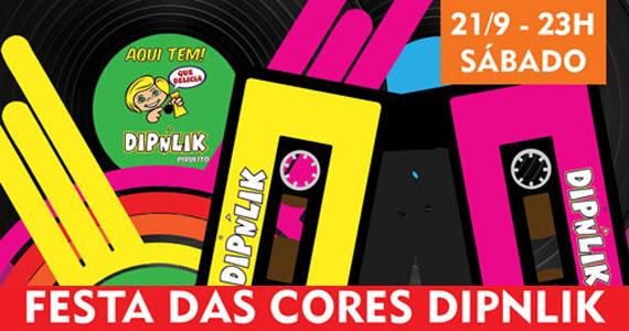 Festa das Cores Diplink agita a noite de sábado na Trash 80s Eventos BaresSP 570x300 imagem