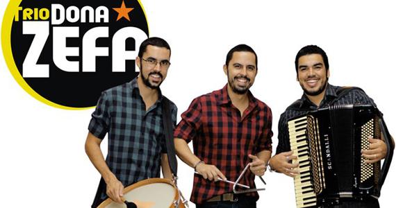 Trio Dona Zefá grava DVD ao vivo no Canto da Ema neste domingo Eventos BaresSP 570x300 imagem