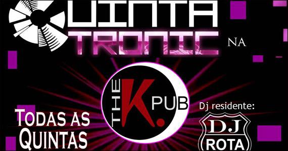 The K. Pub embala a noite ao som da banda Tronic e DJ Eventos BaresSP 570x300 imagem