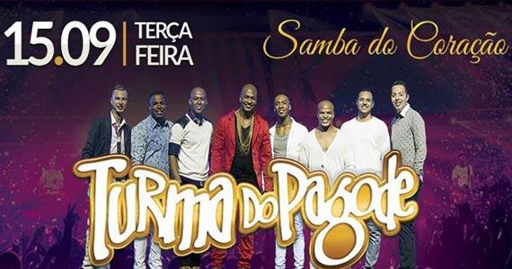 Turma do Pagode canta sucessos de carreira no palco do Coração Sertanejo Eventos BaresSP 570x300 imagem