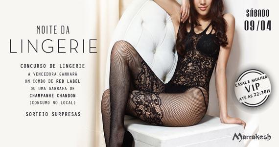 Noite da Lingerie com sorteios surpresas e concurso de lingerie no Marrakesh Club Eventos BaresSP 570x300 imagem