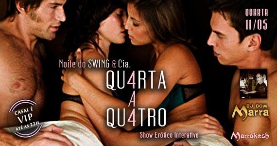 Noite do Swing e Cia - Qu4rta a Qu4tro com DJ Dom Marra no Marrakesh Club Eventos BaresSP 570x300 imagem