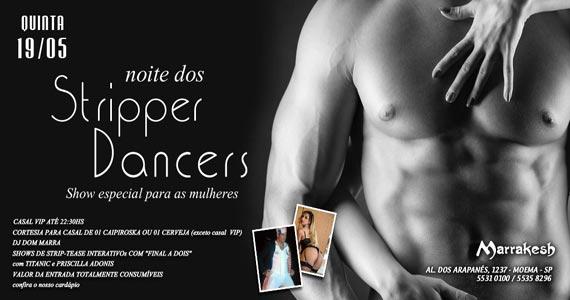 Marrakesh Club recebe a Noite dos Stripper Dancers com shows eróticos Eventos BaresSP 570x300 imagem
