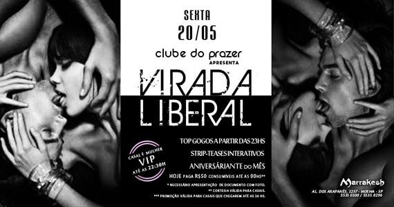 Clube do Prazer apresenta Virada Liberal com DJ Dom Marra no Marrakesh Club Eventos BaresSP 570x300 imagem