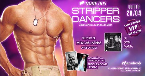 Marrakesh Club recebe a Noite dos Stripper Dancers com DJ Dom Marra Eventos BaresSP 570x300 imagem