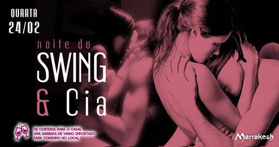 Marrakesh Club recebe a Noite do Swing e Cia na quarta-feira para animar o clima