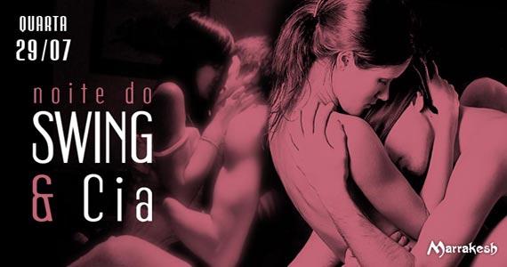Quarta-feira tem a Noite do Swing e Cia para animar o Marrakesh Club