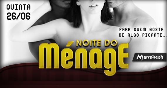 Noite do Ménage esquenta a quinta-feira no Marrakesh Club com muita sedução Eventos BaresSP 570x300 imagem