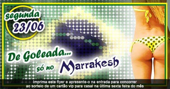 De Goleada Só no Marrakesh Club nesta segunda-feira animando a noite Eventos BaresSP 570x300 imagem