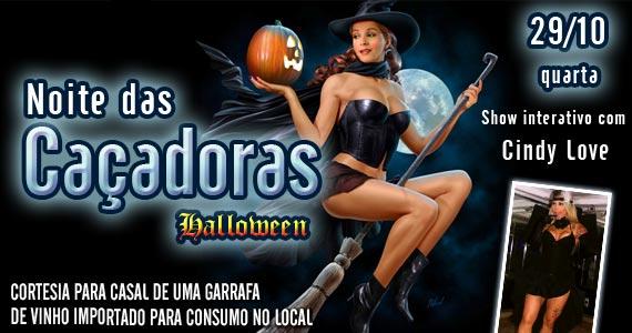 Marrakesh Club recebe os agitos da Noite das Caçadoras Halloween na quarta-feira Eventos BaresSP 570x300 imagem