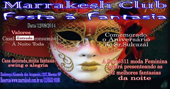 Festa á Fantasia anima a noite de sexta-feira com muito swing e alegria no Marrakesh Club Eventos BaresSP 570x300 imagem