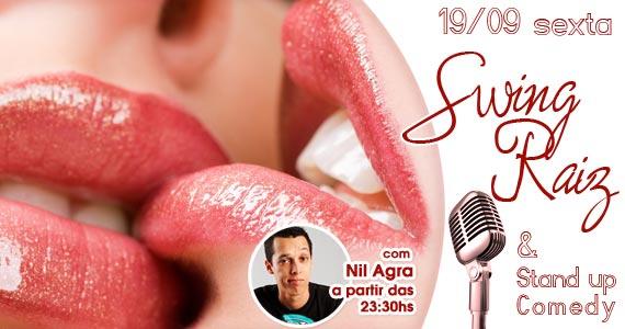 Noite do Swing Raiz & Stand Up Comedy para animar a noite do Marrakesh Club nesta sexta-feira Eventos BaresSP 570x300 imagem