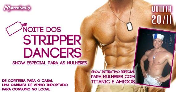 Noite do Stripper Dancers para animar a quinta-feira do Marrakesh Club Eventos BaresSP 570x300 imagem