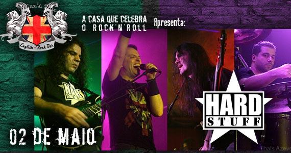Banda HardStuff comanda a noite com muito rock no Gillan's Inn Eventos BaresSP 570x300 imagem
