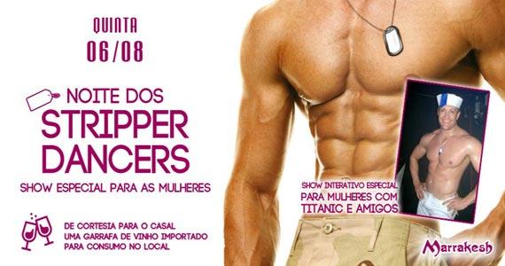 Marrakesh Club recebe a Noite dos Stripper Dancers para agitar a quinta-feira Eventos BaresSP 570x300 imagem