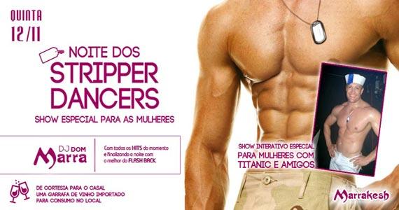 Marrakesh Club recebe a Noite dos Stripper Dancers com show para mulheres Eventos BaresSP 570x300 imagem